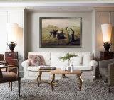 Pittura a olio famosa degli artisti, riproduzione della pittura a olio di capolavoro, i Gleaners (1857years) - miglio del Jean-Francois