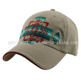 Lavado de sarga de algodón bordado Golf Sport Gorra de béisbol (TMB0911)