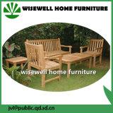 純木の庭のベンチの家具