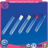 Consumibles médicos Tubos de ensayo de plástico con tapón de corcho