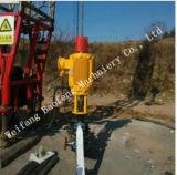 Dispositivo de conducción de tierra de la bomba bien del metano de la capa de carbón del petróleo