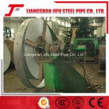 高周波によって溶接される鉄の管機械