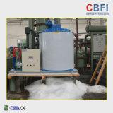 Grosse Kapazitäts-automatisches Eis, das Systems-Flocken-Eis-Maschine harkt