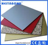20年の壁のクラッディングのサイズ1220/2440/3mmのアルミニウム複合材料のアルミニウムパネル
