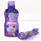 Manchon rétractable les étiquettes des bouteilles en plastique du rouleau de film de PVC, enroulement rétrécissable