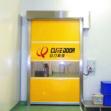 Electric Industrial de Alta Velocidad de rollo de plástico interior puertas