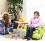 安い価格(M-X3050)の子供ファブリック不精なソファー