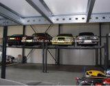 4 Гидравлический стояночный подъемник с 4 парковочных мест