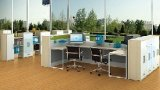 Modern Style Premium Staff Partition Workstations Office Desk (PS-LNPS-06)