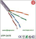 저가를 가진 주식에 있는 UTP Cat5 데이터 케이블