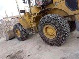 Les chaînes de protection des pneus pour l'usine de chargeur sur roues