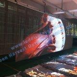 P5 binnen openlucht transparante het gordijn LEIDENE van het glasstadium vertoning