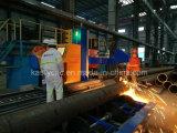 Máquina de estaca da flama do plasma do metal da engenharia do encanamento para as tubulações grandes