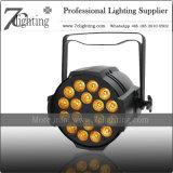 RGBWA kann UVled Wäsche-Effekt-Beleuchtung-Stadium 18*18W DMX LED NENNWERT 64 6in1