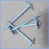 傘ヘッドが付いている中国の75mm電流を通された屋根を付ける釘