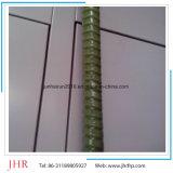 Tondo per cemento armato di prezzi della pultrusione della plastica di rinforzo vetroresina di FRP