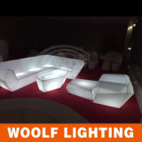 Más 300 Designs Sofá de Mesa de Bar LED con Mesas Sofá Iluminado