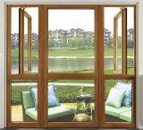 Französische Art-Aluminiumfenster mit bestem Preis