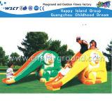 Пластмасса вверх и вниз спортивной площадки скольжения пластичной Toys (M11-09412)