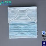 Nichtgewebte Wegwerfgesichtsmaske 3 Falte Earloop Gesichtsmaske