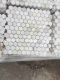 Mattonelle incluse del marmo dell'oro di Calacatta delle mattonelle di pavimentazione
