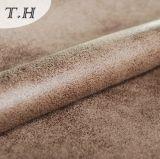 Скопируйте кожаный ткань замши Farbic