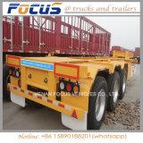 2半車軸Cimc 20FT標準の容器の骨組トラックのトレーラー