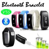 인조 인간과 Ios 전화 (V5S)를 위한 Bluetooth 남녀 공통 지능적인 팔찌