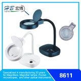 Lámpara de la lupa de ahorro de energía 3D / 8d 110V-120V / 220V-240V 11W