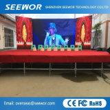 Tabellone per le affissioni esterno dell'affitto LED di alta luminosità di SMD3528 P6 con il Governo di 768*768mm
