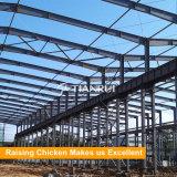 Prefabricationの鉄骨構造の養鶏場の家