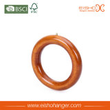 Beautiful Single Circle Cravates en bois Ceintures Ring Hanger