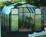정원에 의하여 흘려지는 편리한 가벼운 강철 Structuer 정원 집 저장 헛간