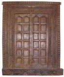 Porta de madeira contínua com estilo novo