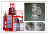 Bâti en aluminium assurément de densité de qualité pour la boîte de vitesse de ralentisseur d'ascenseur de construction de Tcw 125