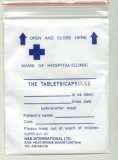 Снадобье Envelope было Uesed для Packing Pills