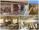 Tente de ressource du Sahara pour le réfectoire ou le café