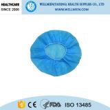 China gab Wegwerf-pp.-nichtgewebte runde Schutzkappe an