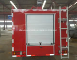 Isuzu 6つのTの二重タクシーの消火活動のトラック6000 L水火のタンク車
