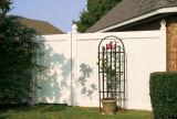 Maison de la vie privée de clôtures PVC
