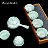 Jeu de thé populaire de thé de théière en céramique colorée de jeu