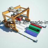 Double grue de portique mobile de conteneur de Rmg 40.5ton de poutre