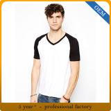 Custom Mens plaine vierge Tee-shirts de baseball