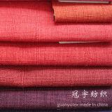 Decoration를 위한 합성 Polyester Linen Fabric