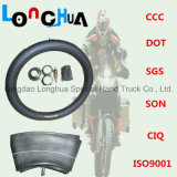 Longhua Factory Tubo de borracha de borracha natural para motocicleta (4.00-8)