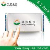 6.2inch LCD het Scherm van de Aanraking met de MultiPunten van de Aanraking