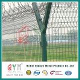 Высококачественные стальные сварные Matal краски предельно провод аэропорта ограждения