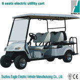 Electric Utility Car (EG2049KSZ, 6 Person, mit der hinteren Purzelbaum-Sitz)