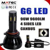 G6 conversione popolare del faro dell'automobile LED per l'automobile 5202 H4 H7 H11 9005/6 9004/7