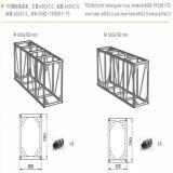Sistema del fascio di illuminazione del tetto del fascio di Rectrangle del collegamento di vite/fascio della fase/sistema del fascio/strumentazione della fase/cabina del fascio/basamento di alluminio del fascio/fascio di alluminio
